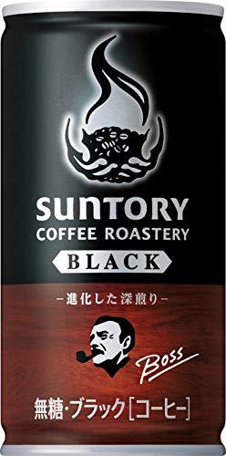 [일본 산토리 보스 캔커피 / SUNTORY BOSS COFFEE] 산토리 보스 커피 로스 tally의 블랙 185g관×30개