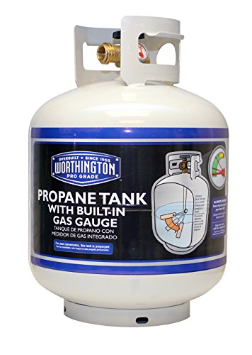 Worthington 336483 20-Pound Steel Propane Tank with Bulletin Gas (Propane Tank Paint)