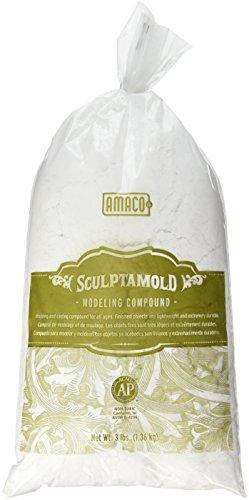 amaco-sculptamold-modeling-compound-3-pound-white