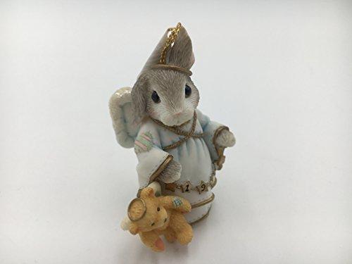 My Blushing BunniesAngel with Teddie 1999 Dated Ornament 553999