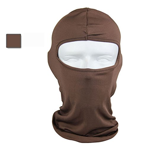 Ezyoutdoor Winter Mask Thermal Swat Ski Neck Hoods Full Face Mask Cover Hat Cap for Riding Cycling Hunting Fishing Walking Outdoor Sports (Simple Venetian Masks)