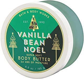 Bath & Body Works Vanilla Bean Noel 6.5 Oz Super Soft Body Butter, 6.5 Ounce