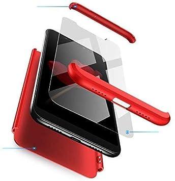 Funda Compatible Xiaomi Redmi K20(Pro)/Mi 9T(Pro) Carcasa[2 Vidrio Templado]360° protección Caja Ultra Delgado Duro PC 3 en 1 Anti-golpes Anti-Arañazos Case Cover Para K20(Pro)/Mi 9T(Pro)-Rojo: Amazon.es: Electrónica