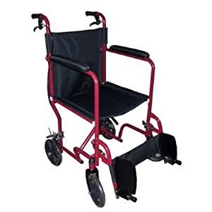 Medmobile 18 transport folding wheelchair Portable motorized wheelchair