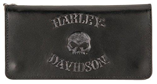 Harley Davidson Company Trucker Leather HDMWA11328 BLK product image