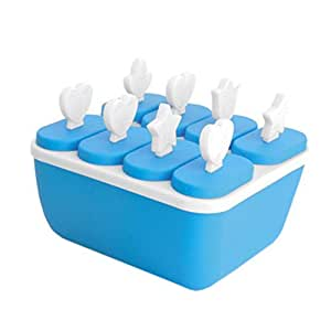 Reusable DIY Frozen Ice Cream Pop Molds Ice Lolly Makers-011