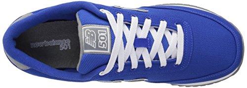 Uomo New Gun Blue Blue Sneaker Balance Metal gunmetal Mz501 tqwrqnAv