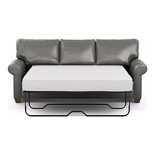Amazon Com Ethan Allen Bennett Roll Arm Leather Sofa 86