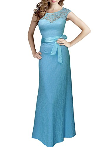 Blue Bridesmaid Gowns - 3