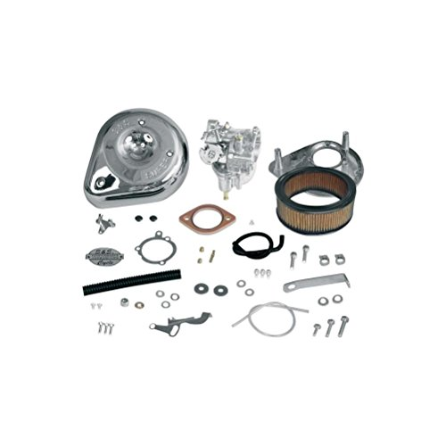 S&S Shorty Super E Carburetor Kit for Harley Davidson 1966-84 Big Twin models w