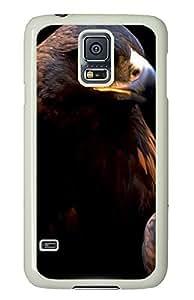 Samsung S5 case custom made Falcon 2 Animal PC White Custom Samsung Galaxy S5 Case Cover