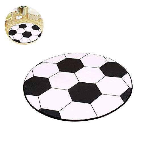 IHomiki Netter - Alfombra Redonda de futbolín para niños (80 cm ...