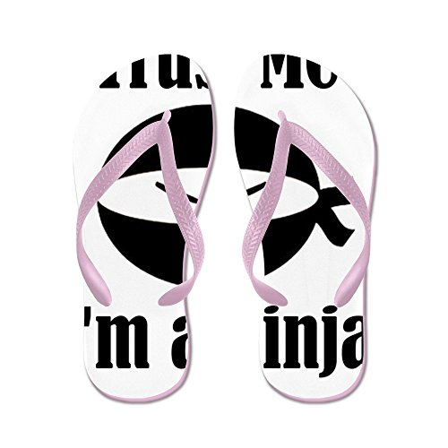 CafePress Trustme - Flip Flops, Funny Thong Sandals, Beach Sandals Pink