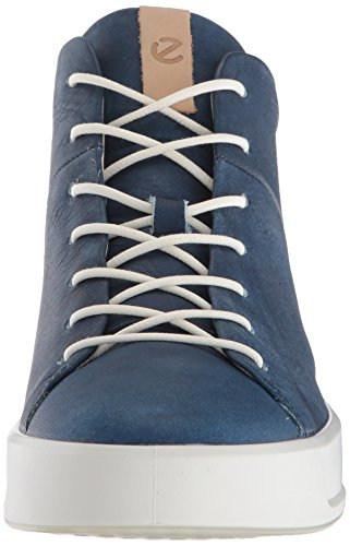 Ecco Soft 8, Sneakers Basses Femme Bleu (Indigo 5)