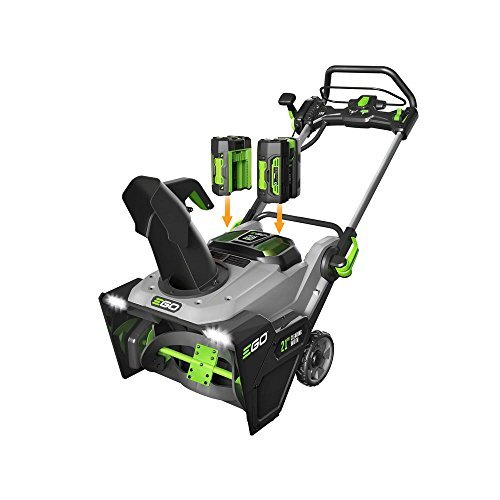 21 in. 56-Volt Lithium-Ion Single-Stage Cordless Electric Snow Blower with (2) 7.5 Ah Batteries