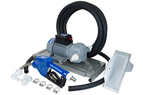 Fill-Rite DF120DAN520 8 GPM 120V DEF Transfer Pump with Auto Nozzle, Suction Hose, Discharge Hose, Drum Bracket, & Power Cord - Diaphragm Transfer Pumps