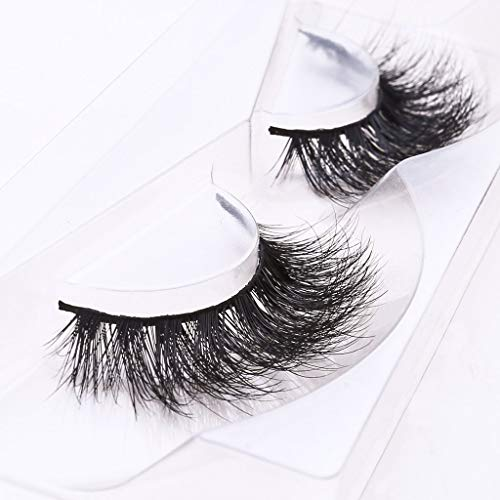 Arimika Long Thick Dramatic Look Handmade Reusable 3D Mink False Eyelashes For Makeup 1 Pair Pack in Style D008 -
