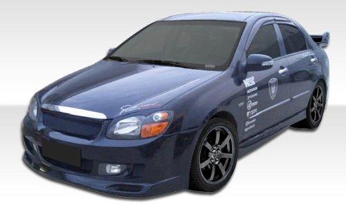Duraflex Replacement for 2007-2009 Kia Spectra Edan Front Bumper Cover - 1 Piece