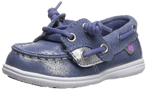 Pictures of Sperry Girls' SHORESIDER JR/Blue Boat Shoe CG59761 1