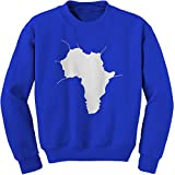 FerociTees Crew Faces Of Africa African American Pride History Adult Large Royal Blue