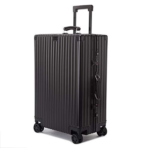 [해외]빌가 세 (Vilgazz) 여행 가방 알루미늄마그네슘 합금 바디 경량 운반 케이스 기내 반입 캐리어 가방 튼튼한 TSA 자물쇠 저소음 대용량 비즈니스 여행 출장 1 년 보증 / Vilgazz Suitcase Aluminum Magnesium Alloy Body Lightweight Carry Case Carr...