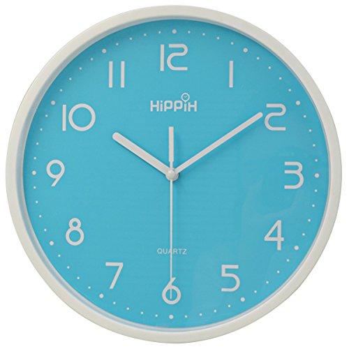 Hippih Silent Non ticking Quartz Digital