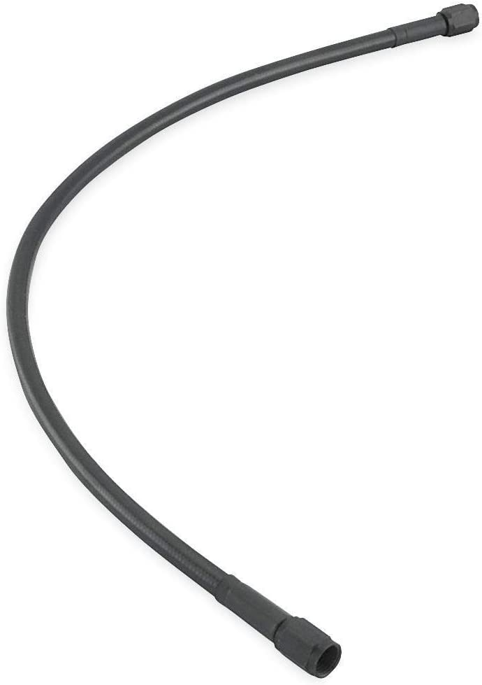 Goodridge 11348 Universal Black Brake Hose with Black Ends 48in.