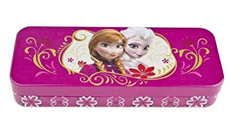 Frozen Tin Pencil Box