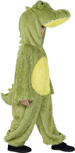 [Kids Fancy Party Dress Animal Jumpsuit Crocodile Costume Outfit Small Age 4-6] (Smiffys Crocodile Costume)