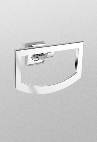 Toto YR626#PN Aimes Towel Ring, Polished Nickel by TOTO