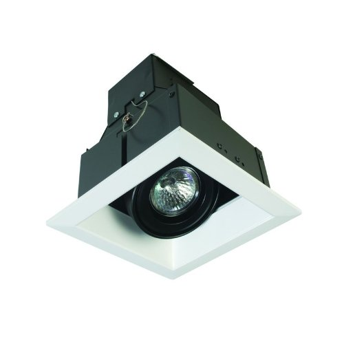 Eurofase Lighting Trim - Eurofase TE111-02 1-Light MR16 Recessed Square Mutiple Trim, White