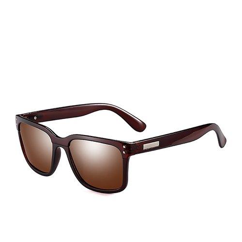 Homme de pour Voyage Hommes TL de Direction Polarisé Lunettes la Brown Soleil Lunettes Brown Sunglasses Lunettes pour C3 BnRORqIY