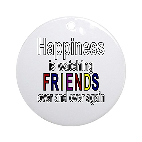 CafePress Happiness Watching Christmas Ornament