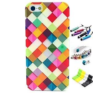 YULIN Funda Trasera - Gráficas/Dibujos/Diseño Especial - para iPhone 5/iPhone 5S ( Multicolor , TPU )