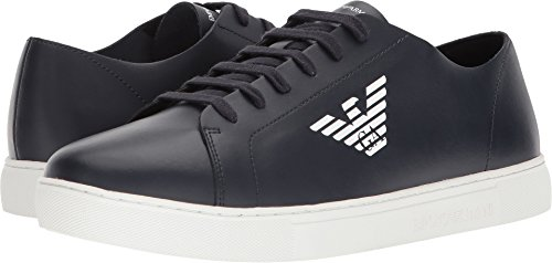 Emporio Armani Men's Eagle Sneaker Sky 10 M - Armani Uk