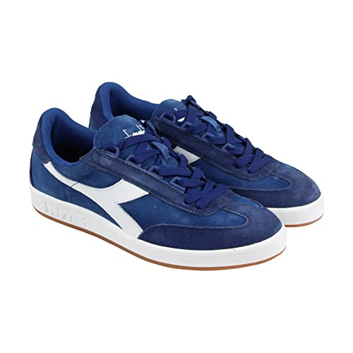 Diadora Men's b. Original Tennis Shoe Saltire Navy/White 9.5 M US