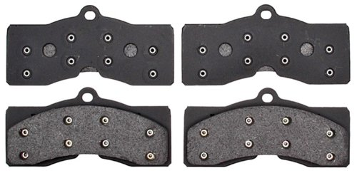 ACDelco 17D8 Professional Organic Front Disc Brake Pad Set