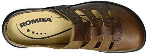 Romika Ladies Maddy 20 Slipper Brown (marrone)