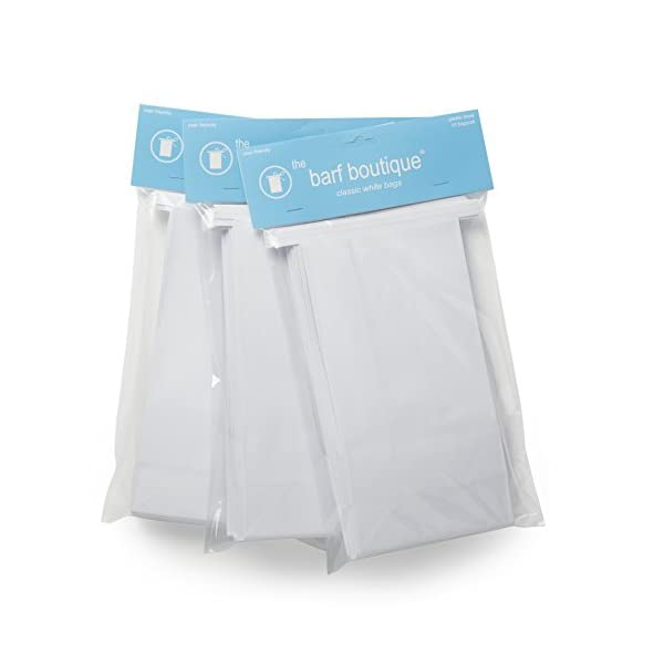 Classic White VomitBarf Bags Travel Motion Morning Sickness Bags 25Pk