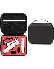 Honbobo Opbergtas voor DJI OM 5, Draagtas Beschermende Handtas Accessoires voor DJI OSMO Mobile5 Gimbal Stablizer (zwarte shell en rode voering)