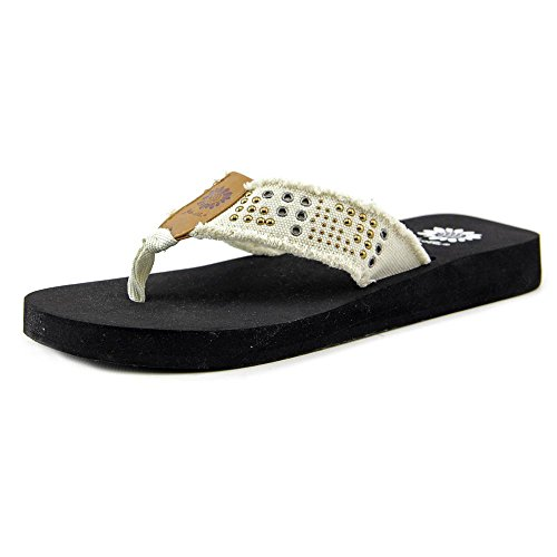 Yellow Box Mojave Womens Fashion Flip Flop Sandals,Khaki,8 (Yellow Box Flip Flops Brown compare prices)