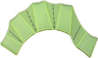 Hosaire 1X Guanto in Silicone verde per l'Allenamento della Mano a Paletta, swim palmo paddle per le donne adulte