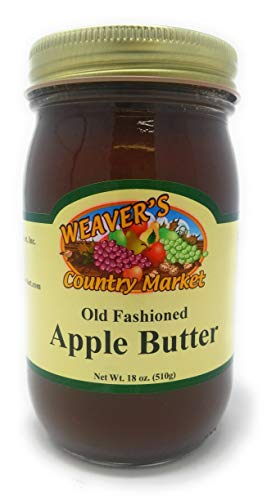 - Weaver's Country Market Old Fashioned Apple Butter (4-18 Ounce Jars)