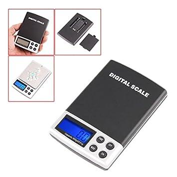 SODIAL(R) 300g x 0.01 Mini Escala de pesa de balanza digital electronica: Amazon.es: Hogar
