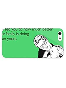 iPhone 5&5S Case Someecarbs Christmas 2012 The Funniest Someecarbs Pictures American Websites 3D Full Wrap