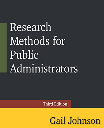 Download Research Methods for Public Administrators: Third Edition Pdf