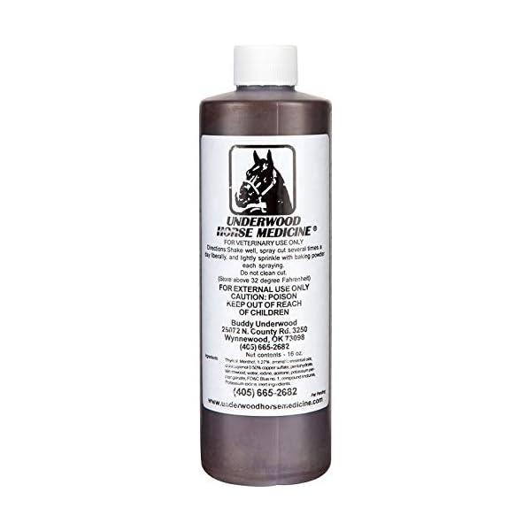 Underwood Horse Medicine Topical Wound Spray 16oz 1