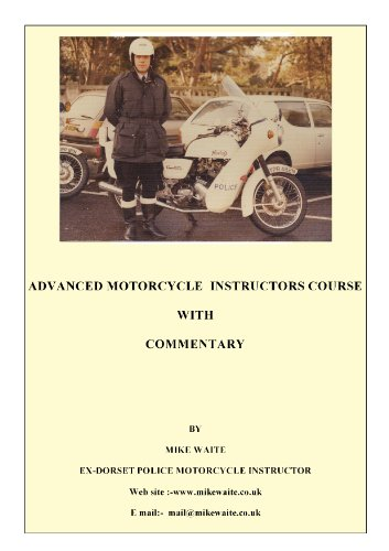 Police Advanced (Motorcycling) Riding Instructors Manual