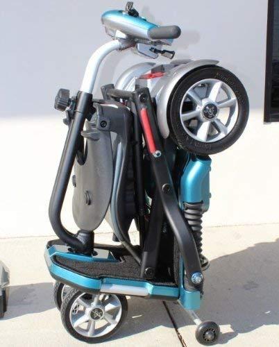 EV Rider Transport Folding Travel Electric Mobility Scooter Sealed Lead Acid Batteries (Without Armrests)