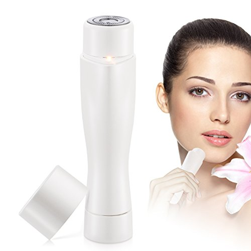Tobeape Hair Removal, Flawless Painless Hair Remover, Remove Facial and Body Hair Built-in LED Light Portable Waterproof - - Facial Hair Looks